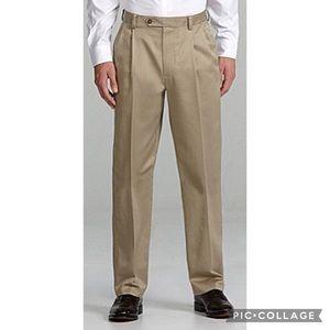 Roundtree&Yorke Classic-Fit Inno-Flex Pants-42/30